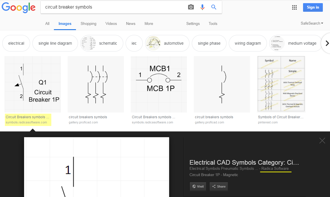 SVG with <object> tags indexed in Google Image search